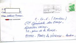 Lettre Flamme Chalons Art Du Cirque - Poststempel (Briefe)