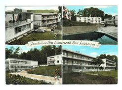 16717    Cpm   Sanatorium Am RÖMERWALL , BAD SALZHAUSEN ,  Carte Photo Multivues 1969  !   ACHAT DIRECT - Wetterau - Kreis