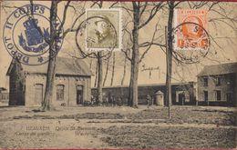 Hemixem Hemiksem Wachthuis Depot Corps De Garde ZELDZAAM Geanimeerd Afgestempeld 'ST-BERNARD' 1924 Belgian Army - Hemiksem