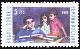 BRAZIL #1102  -  BOOK WEEK  - 1968 - MNH - Brazil