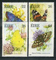 IRLANDE ( POSTE ) : Y&T N°  562/565  TIMBRES  NEUFS  AVEC  TRACE  DE  CHARNIERE , A  VOIR . - 1949-... Republic Of Ireland