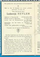 Bp    Z.E.H.   Heylen    Noorderwijk   Arendonk - Images Religieuses