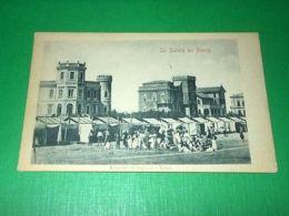 Cartolina Saluti Da Rimini - Camerini Coi Bagnanti E Villini 1920 Ca - Rimini