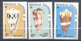 Nouvelle Calédonie, Yvert 481/483, Scott 495/497, MNH - Ongebruikt