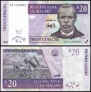 Malawi 20 KWACHA 1997 P 38a UNC - Malawi