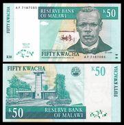 Malawi 50 KWACHA 1997 P 39 UNC - Malawi