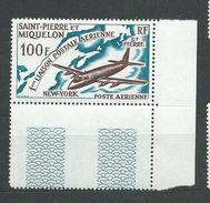 SAINT- PIERRE- ET- MIQUELON  PA    N°  31  **  XX  TB  1 - Luftpost