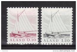 Aland 1985 N°8/9 Neufs Bateau De Pêche - Aland