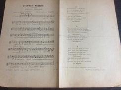 Partition : Pierrot Médecin  (répertoire De Mercadier - La Chanson Moderne Ed .- 2 Feuillets - Début Du Siècle Dernier - - Opéra