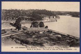 35 LE CHATELLIER Les Bords De La Rance, L'écluse De Livet Et Le Village Du Chatellier - Le Châtellier