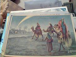 BUON NATALE RE MAGI  ILLUSTRATA COLLINO V1940 GC14229 - Natale