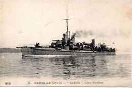 Bateaux : Marine De Guerre : Contre-Torplleur '' Gabion '' - Guerra