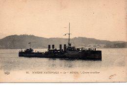 Bateaux : Marine De Guerre : Contre-Torplleur '' Bisson '' - Guerra