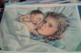 BAMBINA  ENFANT  BOYS  CON  BAMBOLA PUPPET  N1955  GC14236 - Giochi, Giocattoli