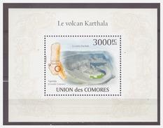 0144 Comores 2010 Vulcano Karthala S/S MNH - Milieubescherming & Klimaat