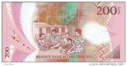 VANUATU P. 14 200 V 2014 UNC - Vanuatu