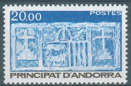 Andorra (French Adm.), Primitive écu Of The Valleys, 20f., 1984, MNH VF - Unused Stamps