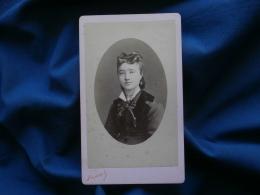 Photo CDV Reynouls à Béziers -  Beau Portrait Jeune Femme Circa 1875 L317 - Photos