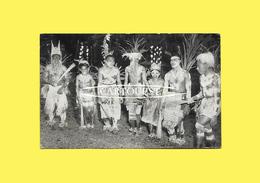 CPSM Vanuatu Vila Ceremonial DANCERS Efate 1968 - Vanuatu