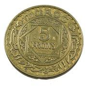 5 Francs - Maroc - Br.alu - 1946 - 1365 - TB+ - - Marruecos