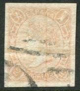 Edifil 73A, 2 Reales Salmon Sin Dentar De 1865 Usado - 1850-68 Regno: Isabella II
