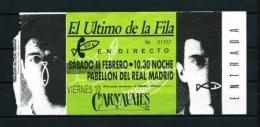 EL ULTIMO DE LA FILA (año 1989) - Entradas A Conciertos