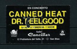 CANNED HEAT - DR. FEELGOOD (1996) - Entradas A Conciertos