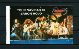 BARON ROJO  (año 1982) - Entradas A Conciertos