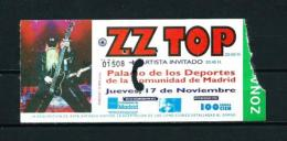 ZZ TOP  (AÑO 1994) - Entradas A Conciertos