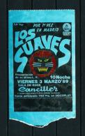 LOS SUAVES  (año 1989) - Entradas A Conciertos