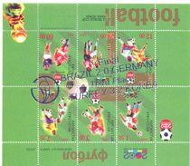 2002. Kyrgyzstan, Winners Of World Soccer Cup'2002, ERROR, S/s With Silver  OP INVERT, Mint/** - Kyrgyzstan