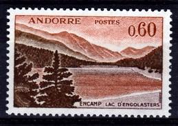 Andorra (French Adm.), Lake Engolasters, Encamp Parish, 60c., 1961, MNH VF - French Andorra
