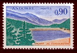 Andorra (French Adm.), Lake Engolasters, Encamp Parish, 90c., 1961, MNH VF - French Andorra