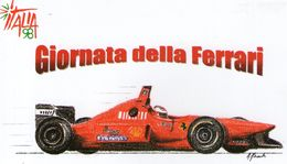 B 979 - Sport, Automobilismo, Ferrari - Cartoline
