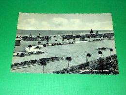 Cartolina Riccione - Cabine Al Mare 1960 - Rimini
