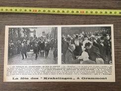 ENV 1924 FETE DE  KRAKELINGEN A GRAMMONT - Documentos Antiguos