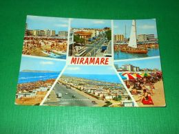 Cartolina Miramare - Vedute Diverse 1975 - Rimini
