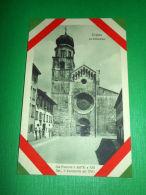 Cartolina Trento - La Cattedrale - La Facciata E Il Campanile 1918 Ca. - Trento