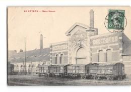 CPA 59 Le Cateau Usine Simons - Chemin De Fer Industriel - Le Cateau