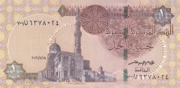 EGYPT 1 EGP 2016 P-50 NEW SIG/ T.AMER #23 REPLACEMENT 700 UNC */* - Egypte