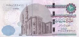 EGYPT 10 POUNDS EGP 2013 P-71a SIG/ H.RAMEZ #23 REPLACEMENT 700 New Design UNC - Egypt