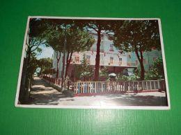 Cartolina Bellaria - Hotel Città Di Rosario ( Viale Panzini ) 1962 - Rimini