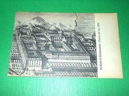 Cartolina La Badia Di Montecassino - Stampa Del Sec. XVIII 1930 Ca - Frosinone