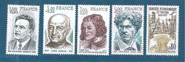 France Timbres  De 1977  N°1953 A 1957  Neufs ** Prix De La Poste - Nuovi