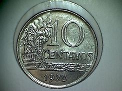 Brésil 10 Centavos 1970 - Brésil