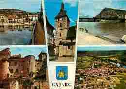 46 - Cajarc - Multivues - Voir Scans Recto-Verso - Frankrijk