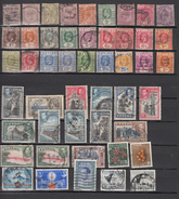 Ceylon 48V,small Collection,see Scan,Used/Gestempeld(C257) - Ceylon (...-1947)