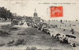17 FOURAS  La Plage , Le Jour Des Régates - Fouras-les-Bains