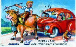 DEPANNAGE - Traction Avant Avec Essuie Glace Automatique - Humour