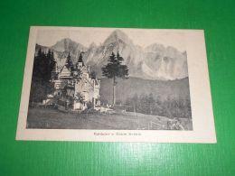 Cartolina Valdajer E Monte Sernio - Veduta 1928 - Udine
